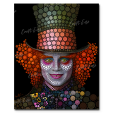 """Mad Hatter Johnny Depp"" Paint By Numbers Craft-Ease™ - Exclusive Series (50 x 40 cm)"