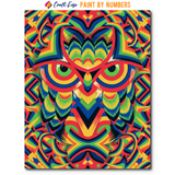 """Owl"" Paint By Numbers Craft-Ease™ - Exclusive Series (50 x 40 cm)"