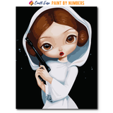 """Leia"" Paint By Numbers Craft-Ease™ - Exclusive Series (50 x 40 cm)"