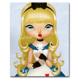 """Alice"" Paint By Numbers Craft-Ease™ - Exclusive Series (50 x 40 cm)"