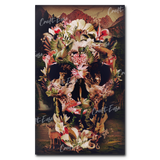 """Jungle Skull"" Paint By Numbers Craft-Ease™ - Exclusive Series (50 x 30 cm)"