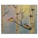 """Chickadees"" Paint By Numbers Craft-Ease™ - Exclusive Series (40 x 50 cm)"