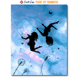 """Free As The Wind"" Paint By Numbers Craft-Ease™ - Exclusive Series (50 x 40 cm)"