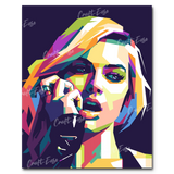 """Margot Robbie"" Paint By Numbers Craft-Ease™ - Exclusive Series (50 x 40 cm)"