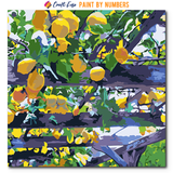 """Lemon Drop"" Paint By Numbers Craft-Ease™ - Exclusive Series (40 x 40 cm)"