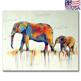 """Mama and Baby"" Paint By Numbers Craft-Ease™ - Exclusive Series (40 x 50 cm) - US Shipping"
