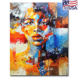 """Portrait of Portia"" Paint By Numbers Craft-Ease™ - Exclusive Series (50 x 40 cm) - US Shipping"