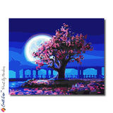 """All The Colors Of The Night"" - Paint By Numbers Craft-Ease™ (40 x 50 cm) - Craft-Ease"