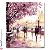 """On a Spring Afternoon"" - Paint By Numbers Craft-Ease™  (50 x 40 cm) - Craft-Ease"