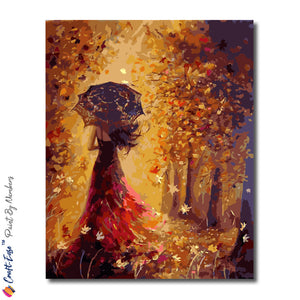 """I Walk Alone"" - Paint By Numbers Craft-Ease™ (50 x 40 cm) - Craft-Ease"