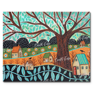 """Clear Day"" Paint By Numbers Craft-Ease™ - Exclusive Series (40 x 50 cm)"