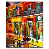 """Outside Pat O'Brien's Bar"" Paint By Numbers Craft-Ease™ - Exclusive Series (50 x 40 cm)"