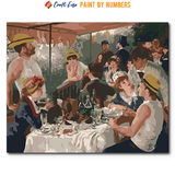 """Luncheon of the Boating Party"" Paint By Numbers Craft-Ease™ - The Classics (40 x 50 cm)"