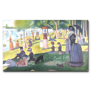 """A Sunday Afternoon on the Island of La Grande Jatte"" Paint By Numbers Craft-Ease™ - The Classics (30 x 50 cm)"