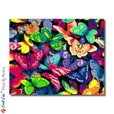 """Rainbow of Colors"" - Craft-Ease™ Paint By Numbers  (40 x 50 cm)"