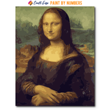 """Mona Lisa"" Paint By Numbers Craft-Ease™ - The Classics (50 X 40 cm)"