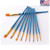 """Paint Easy"" - 10 Paintbrushes Set by Craft-Ease™"