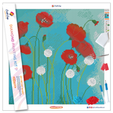 """Floral Fantasy"" Diamond Painting Kit Craft-Ease™ - Exclusive Series (40 x 40 cm)"