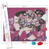 """Floralie"" Diamond Painting Kit Craft-Ease™ - Exclusive Series (40 x 50 cm)"