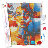 """Portrait of Portia"" Diamond Painting Kit Craft-Ease™ - Exclusive Series (50 x 40 cm)"