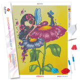 """Myrell"" Diamond Painting Kit Craft-Ease™ - Exclusive Series (50 x 40 cm)"