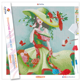 """Natural Beauty"" Diamond Painting Kit Craft-Ease™ - Exclusive Series (40 x 40 cm)"