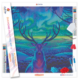 """North Spirit"" Diamond Painting Kit Craft-Ease™ - Exclusive Series (40 x 40 cm)"