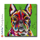 """French Bulldog"" Craft-Ease™ Paint By Numbers - Exclusive Series (40 x 40 cm)"