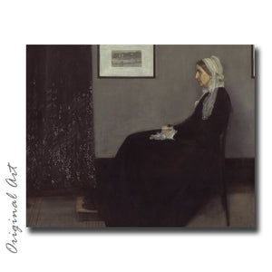 """Portrait of Whistler's Mother"" Craft-Ease™ Paint By Numbers - The Classics (40 x 50 cm) - Craft-Ease"