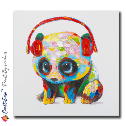 """Little Ball of Cuteness"" - Craft-IT™ Paint By Numbers - Deal-Rush"