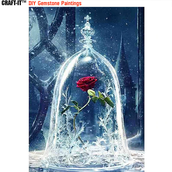"""Love of a Beast"" - Craft-IT™ DIY Gemstone Paintings - Deal-Rush"