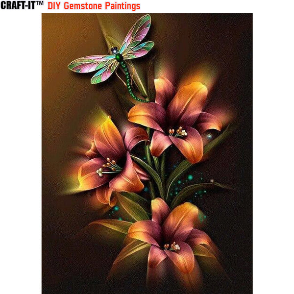 """Nature's Art"" - Craft-IT™ DIY Gemstone Paintings - Deal-Rush"