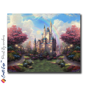 """Once Upon a Fairy Tale"" - Craft-Ease™ Paint By Numbers (40 x 50 cm)"