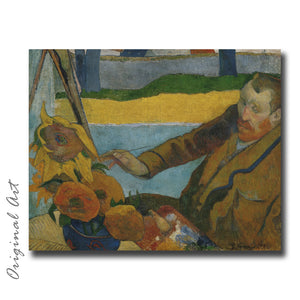 """Van Gogh Painting Sunflowers"" Craft-Ease™ Paint By Numbers - The Classics (40 x 50 cm)"