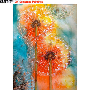 """Shades of Enchantment"" - Craft-IT™ DIY Gemstone Paintings"