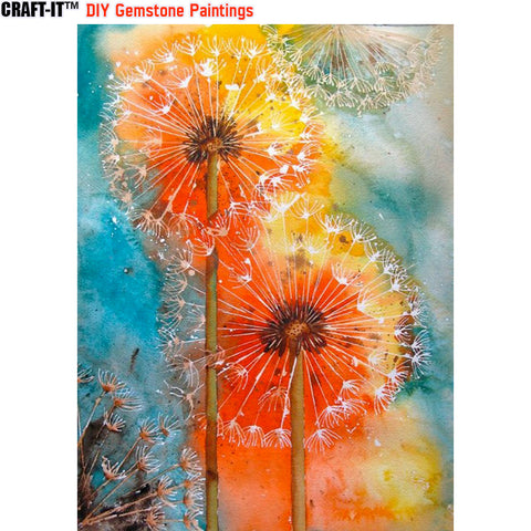 """Shades of Enchantment"" - Craft-IT™ DIY Gemstone Paintings - Deal-Rush"