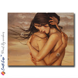 """Untamed Affection"" - Craft-Ease™ Paint By Numbers (40 x 50 cm)"