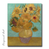 """Sunflowers – Vase with Twelve Sunflowers, Philadelphia"" Craft-Ease™ Paint By Numbers - The Classics (50 x 40 cm) - Craft-Ease"