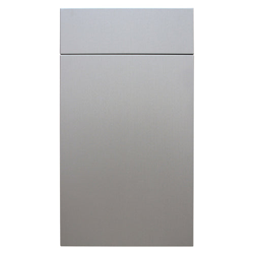 Brushed Aluminum Door - Quality Kitchens For Less