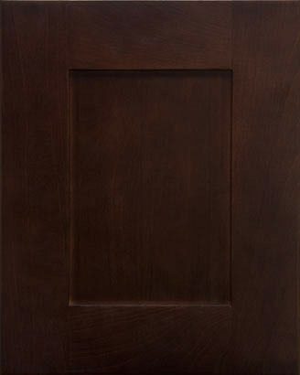 Chocolate Shaker Door - Quality Kitchens For Less