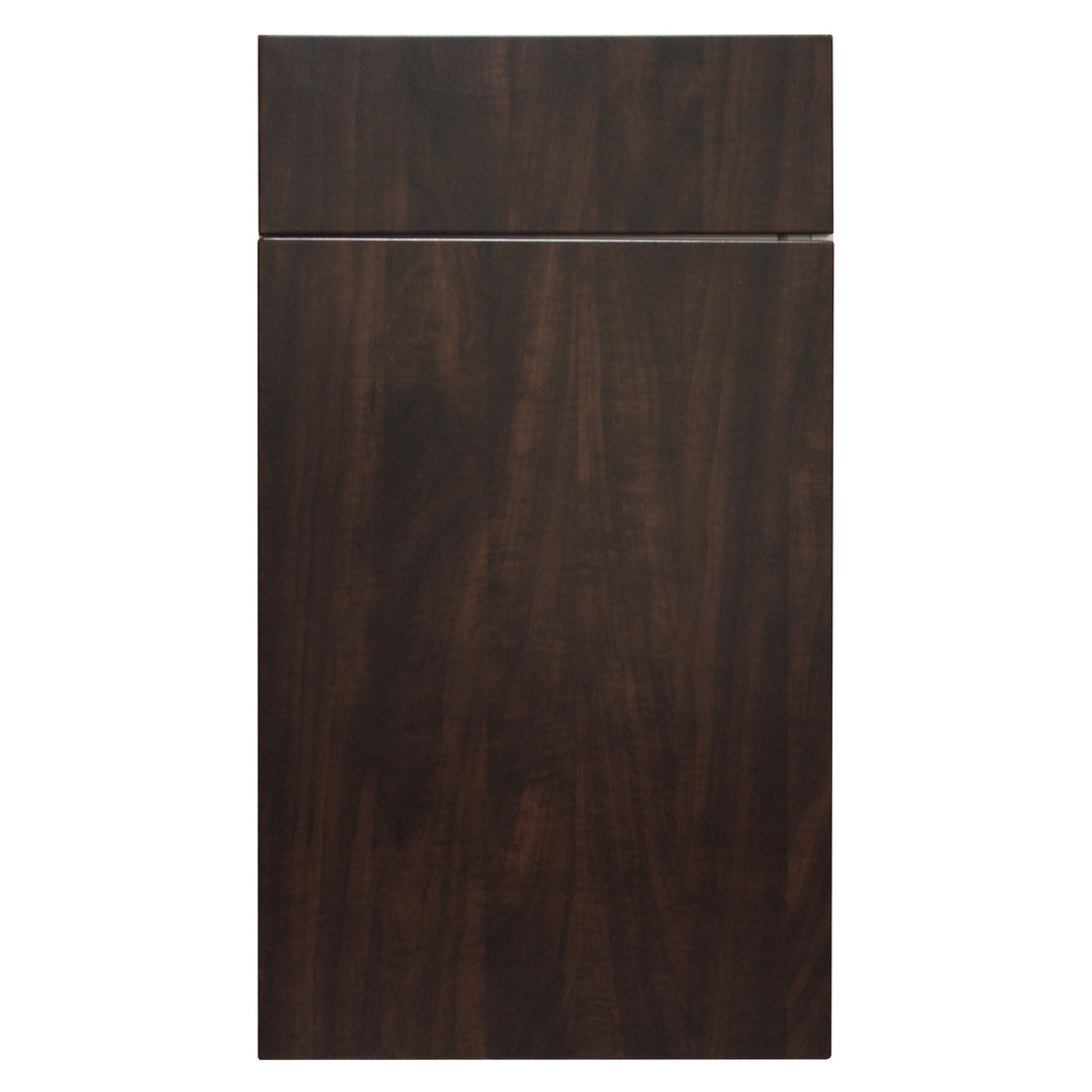 Chocolate Wood Grain Door