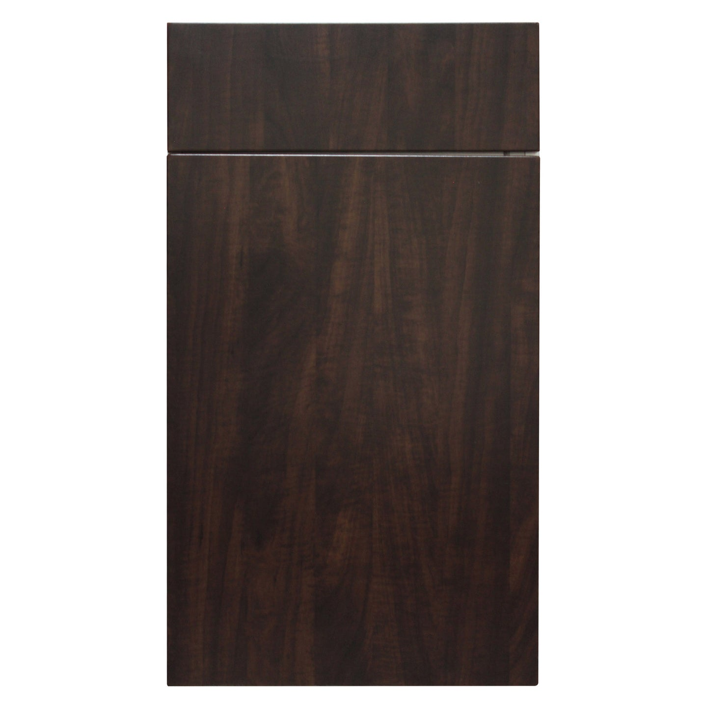 Chocolate German Wood Grain Door - Quality Kitchens For Less