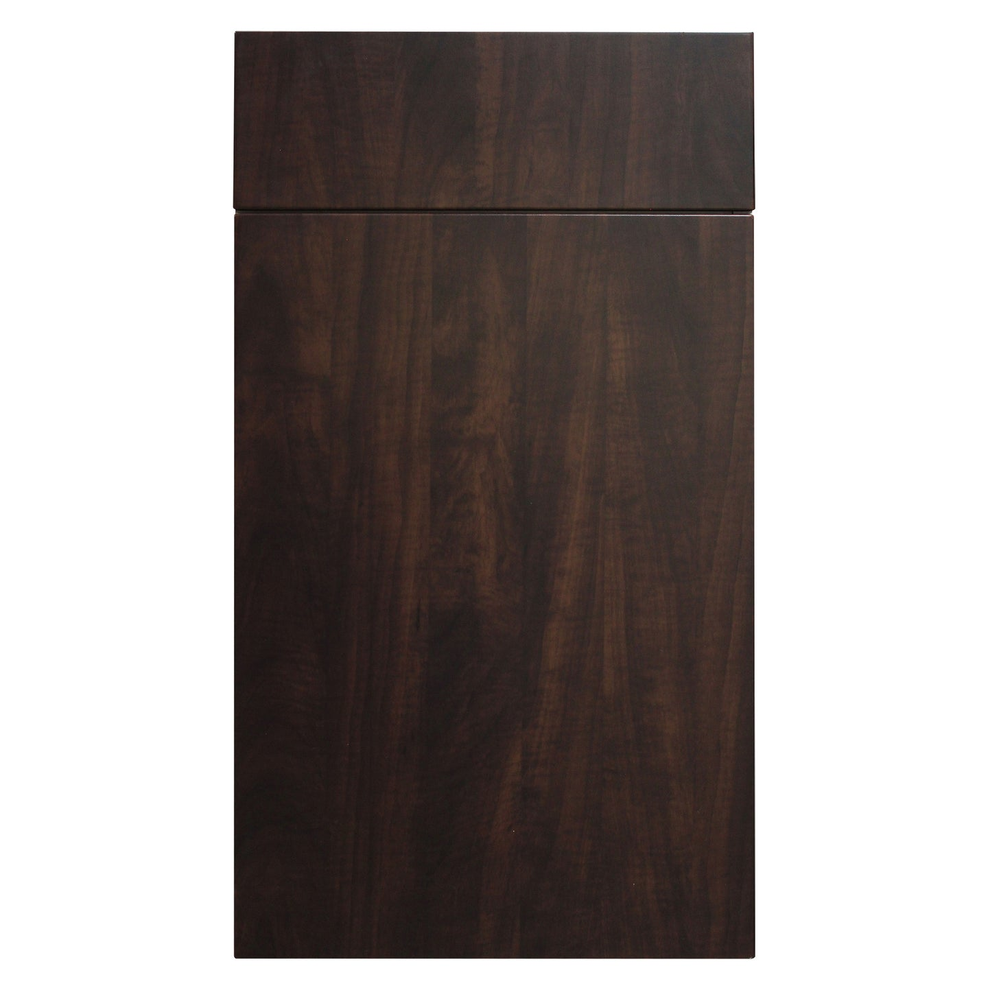 Dark Chocolate Wood Grain Kitchen Door - Quality Kitchens For Less
