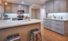 Light Gray Shaker - Quality Kitchens For Less