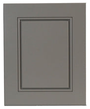 Gray Contemporary Raised Panel Door - Quality Kitchens For Less