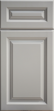 Metro Grey Raised Panel Door - Quality Kitchens For Less