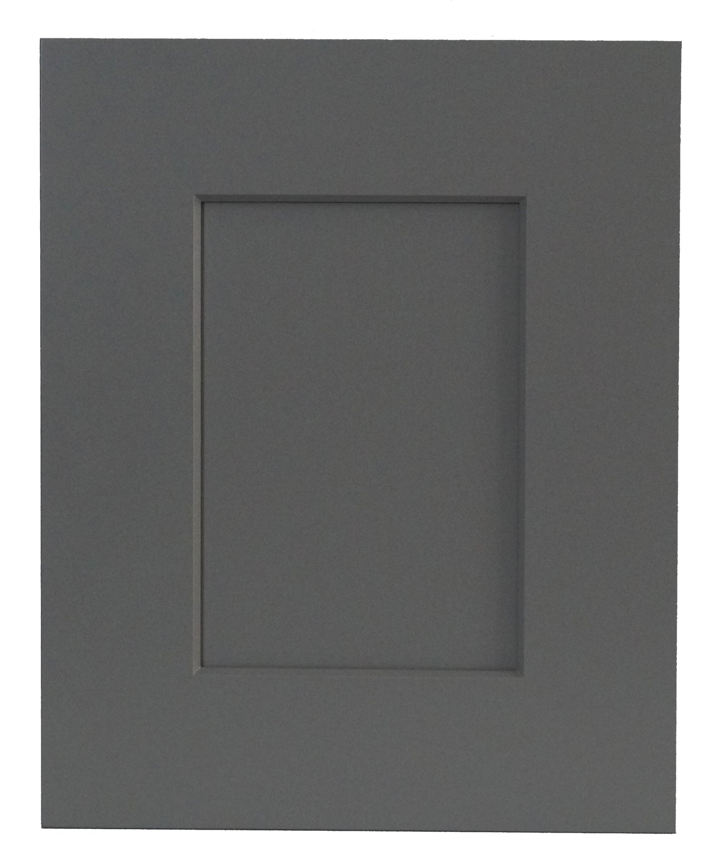 Gray Beveled Shaker - Quality Kitchens For Less