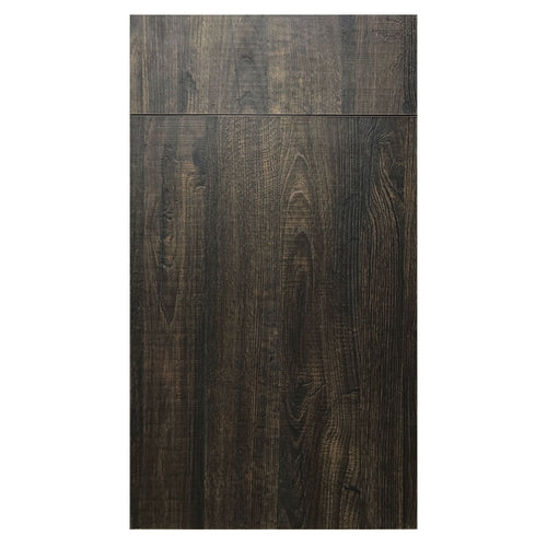 Walnut Wood Grain Laminate - Moderno - Quality Kitchens For Less