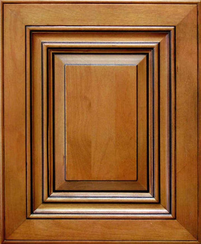 Traditional Coffee Glaze Raised Panel Door