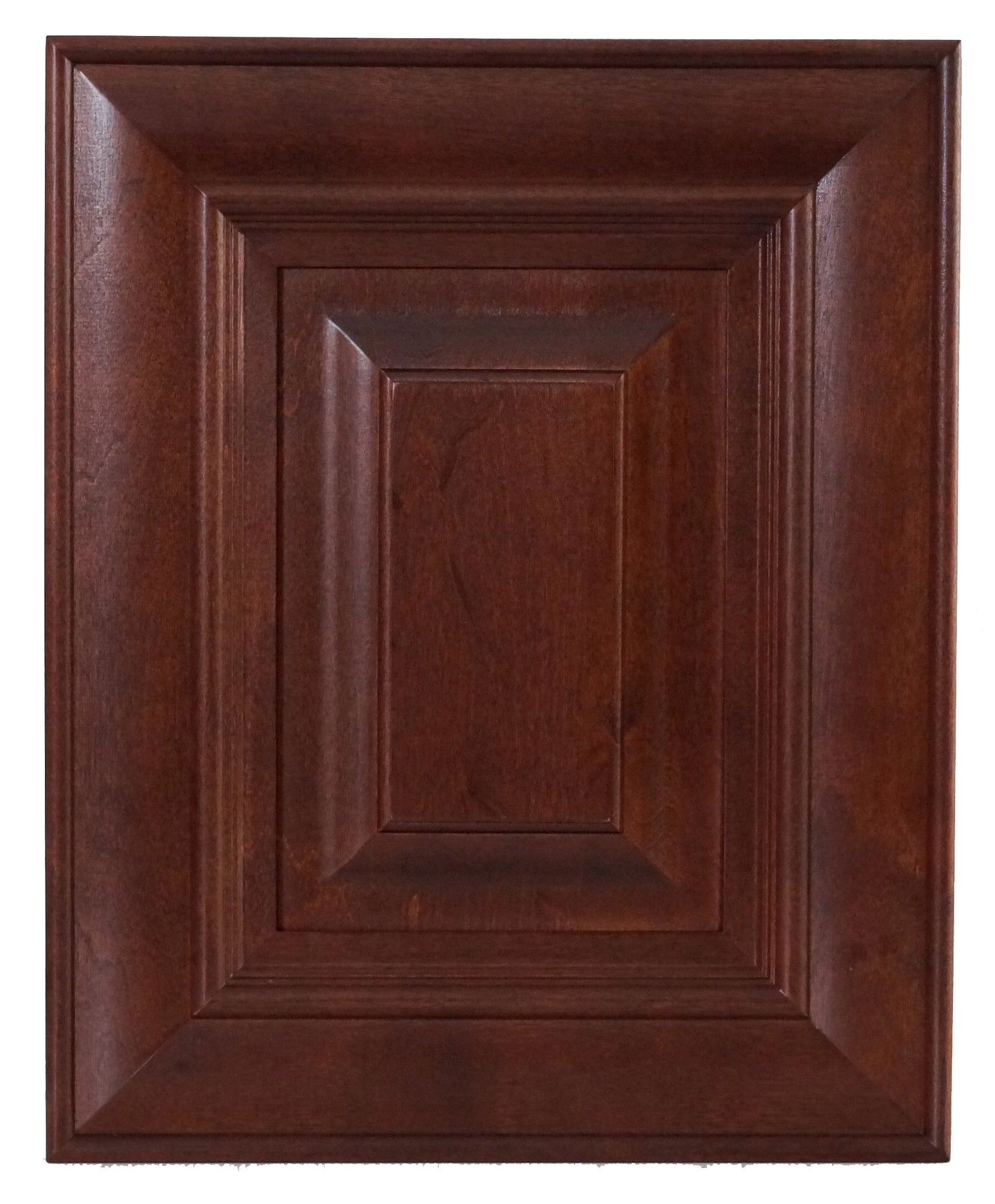 Mahogany Traditional Raised Panel Door - Quality Kitchens For Less